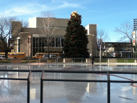 Red Arrow ice rink - 1