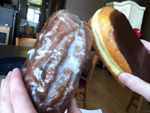 """One doughnut at a time."" katherinewikoff.com"