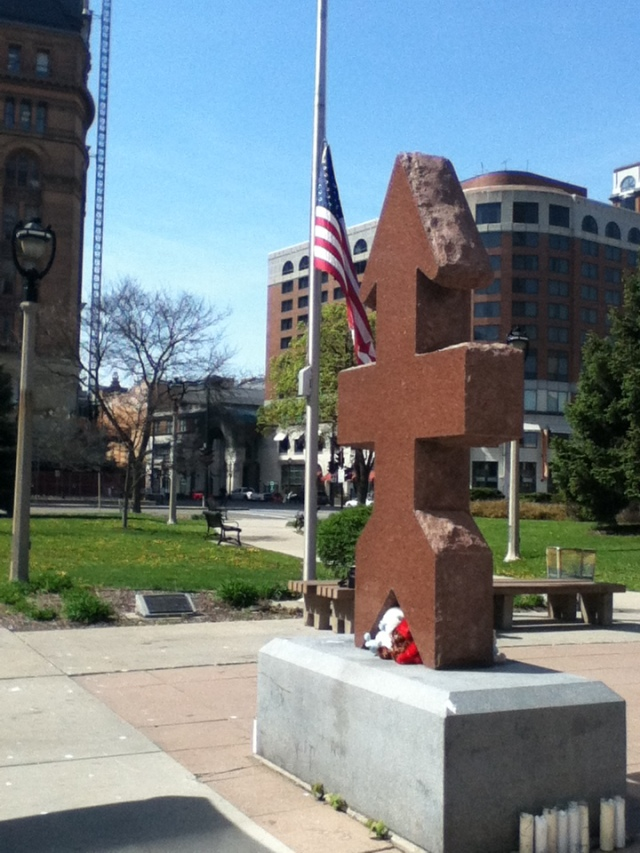 Three Memorials: 32nd Infantry, Patrick Lucey, and Dontre Hamilton