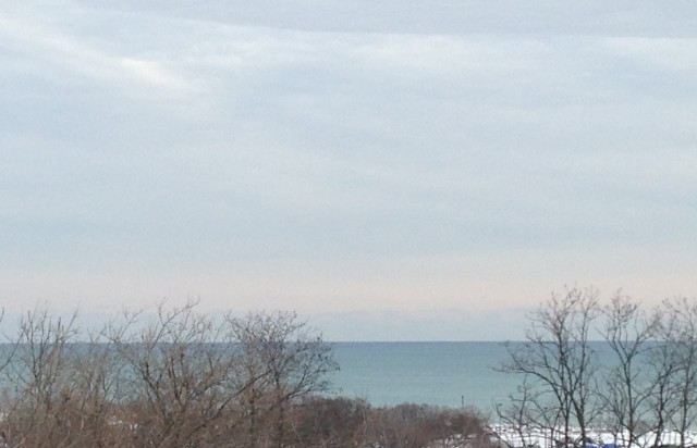 Lake Michigan, January