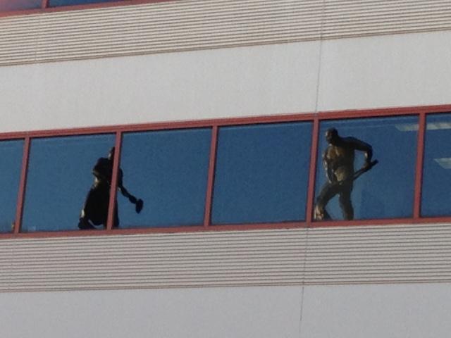 Grohmann rooftop sculptures