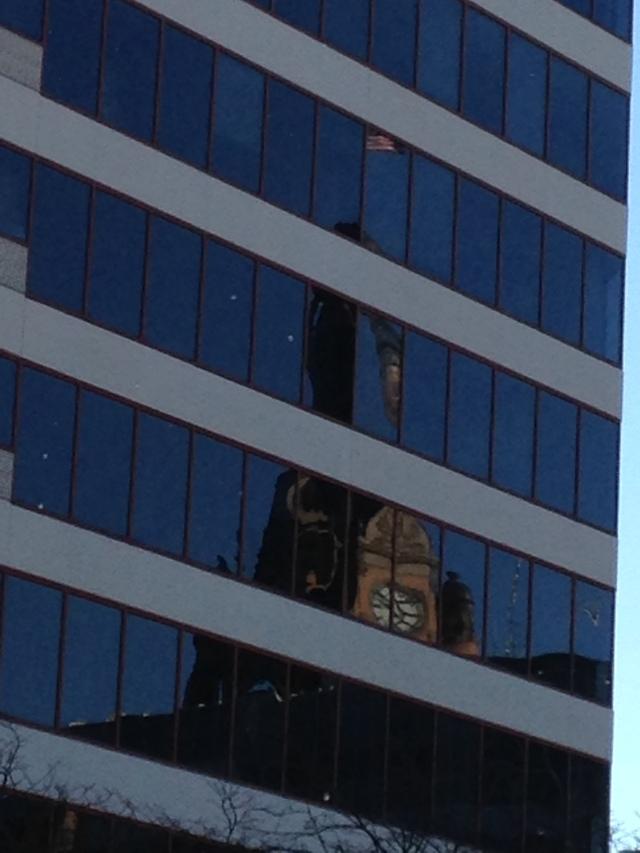Milwaukee City Hall - Morning Reflection
