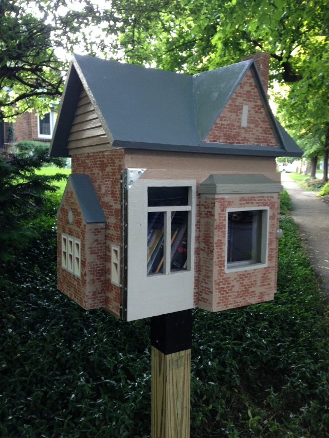 Little Free Library #2 -- Katherine Wikoff