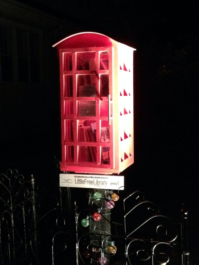 Little Free Library No.6 - London Calling