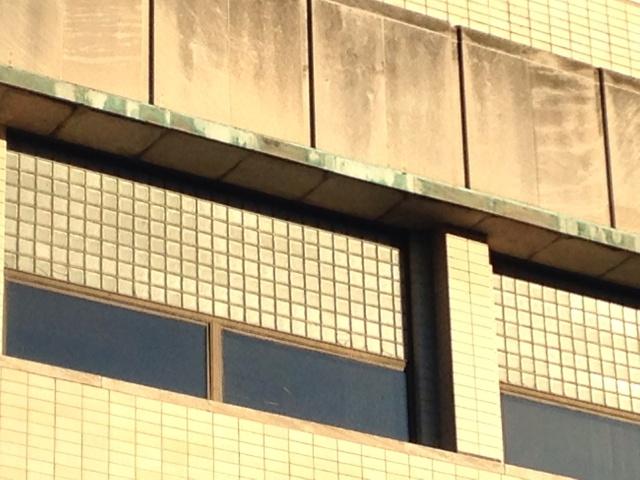 Val Blatz Bottle House / MSOE Campus Center window detail