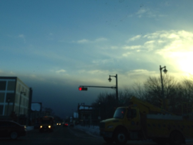"Approaching ""Lake Effect"" Snow"