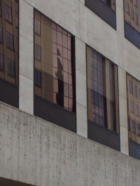 Milwaukee City Hall reflection