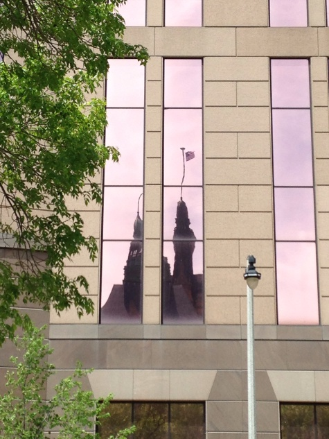 Milwaukee City Hall reflection