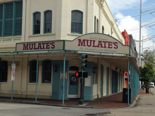 Mulate's restaurant New Orleans