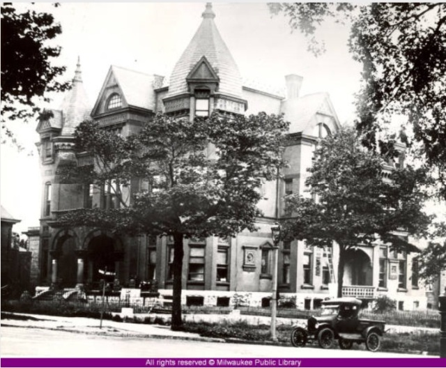 Blatz mansion 1920s from 8-9-64 article
