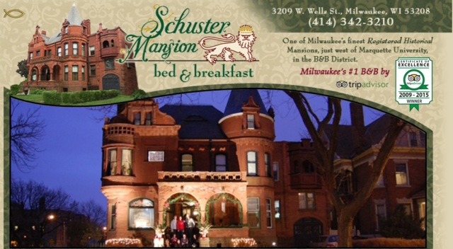 Schuster Mansion Bed & Breakfast (link to website here)
